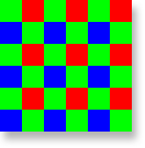 RGB Bayer pattern