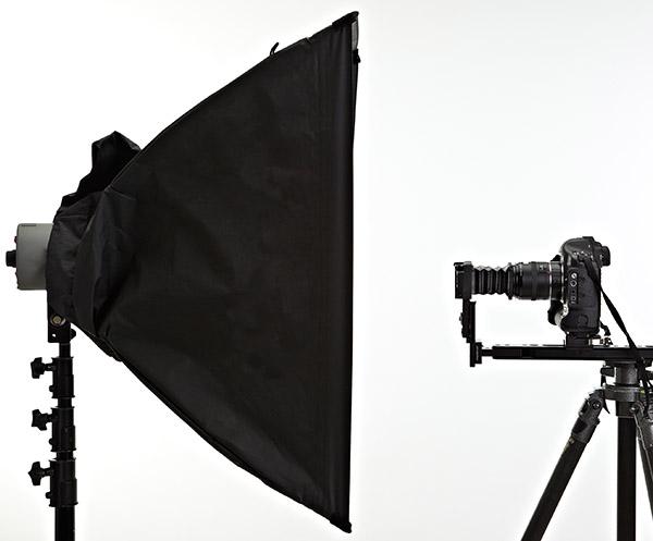 Camera scan setup